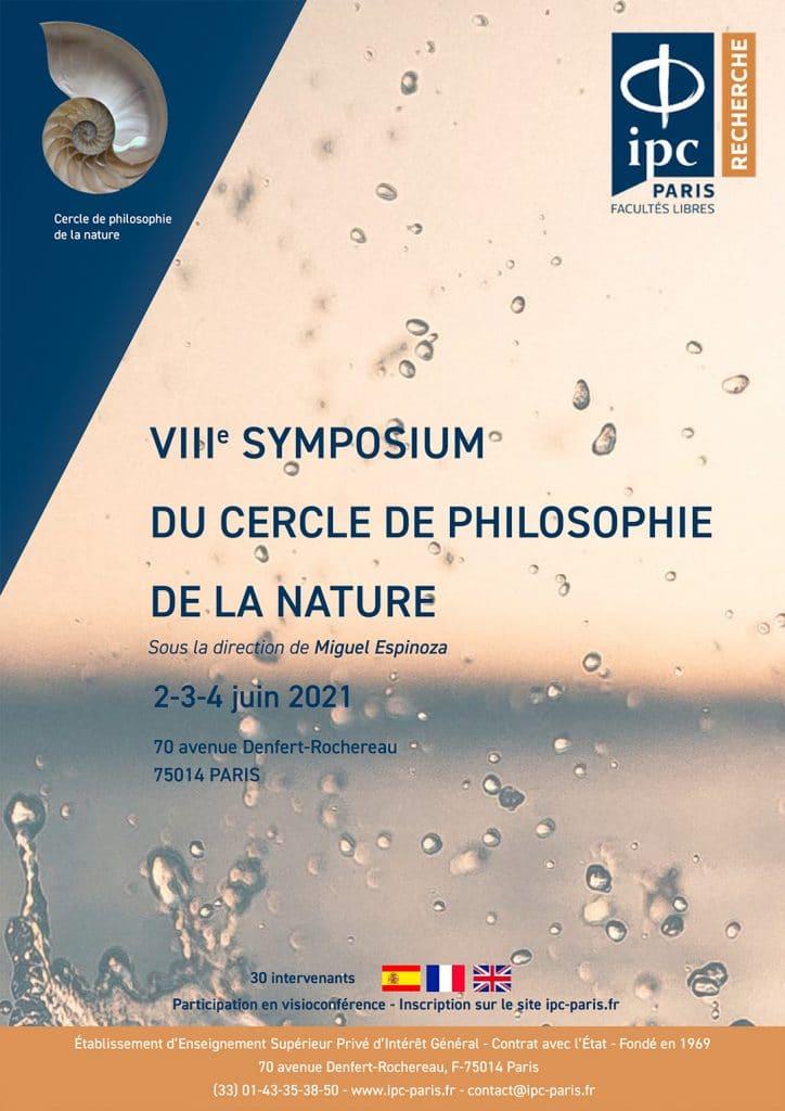 Symposium International Du Cercle De Philosophie De La Nature