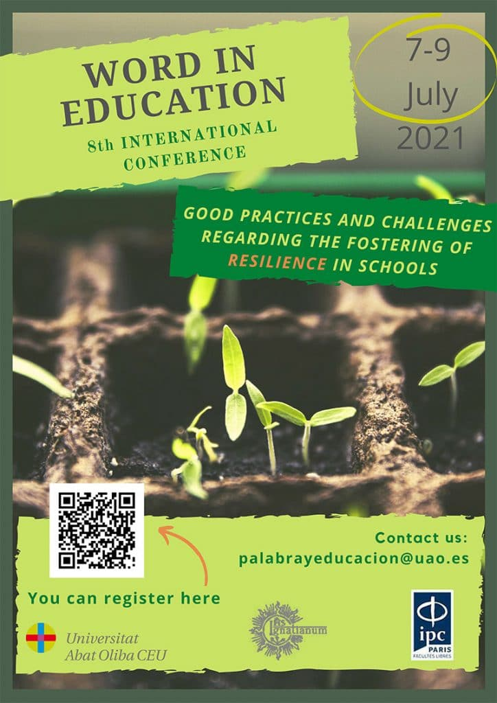 """8th International Congress on """"The Word in Education"""". Good Practices And Challenges Regarding The Fostering Of Resilience In Schools"""